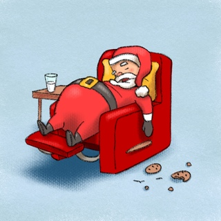 Santa's Health (Obesity, Soot Wart, Stress and OSA) Artwork