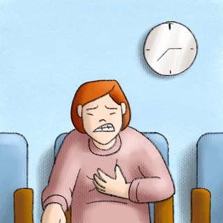 Chest Pain in the Office Artwork
