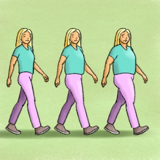 Weight Gain in Middle Age: The Solutions Artwork