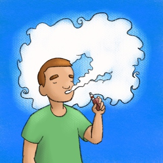 E-Cigarettes and Vaping Artwork