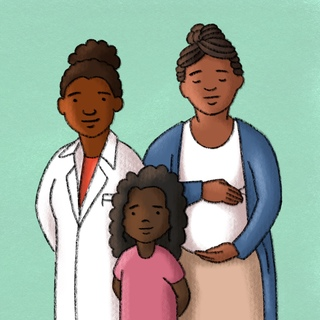 Maternal and Child Health Disparities Artwork