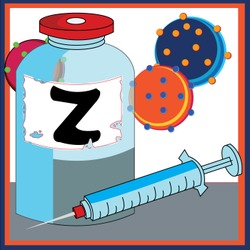 Zoster Vaccine Artwork